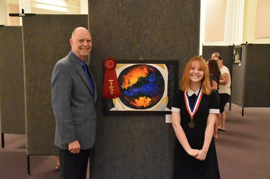 Congressional Art Competition 2nd Place